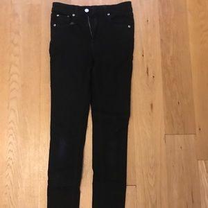 Black Rag and Bone Skinny Jeans
